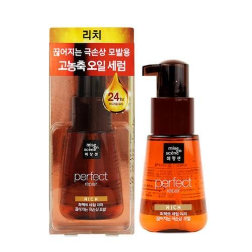 Сыворотка-масло для восстановления поврежденных волос Mise en Scene Perfect Serum rich 70 мл (8806390532006)