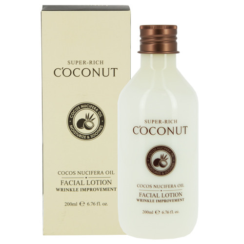 Кокосовый питательный лосьон для лица Esfolio Super-rich Coconut Facial Lotion 200 мл (8809386885278)