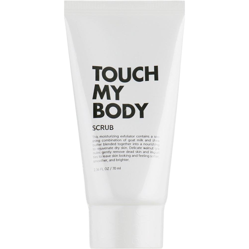 Отшелушивающий скраб для тела с козьим молоком Esthetic House Touch My Body Goat Milk Body Scrub 70 мл (8809450011428)