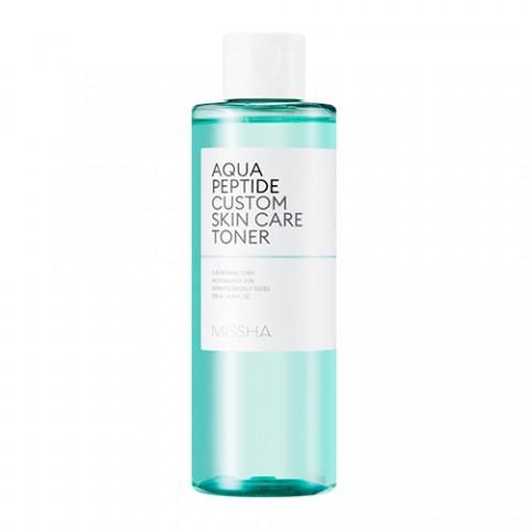 Увлажняющий тонер для лица с пептидами Missha Aqua Peptide Custom Skin Care Toner 200 мл (8809581461413)