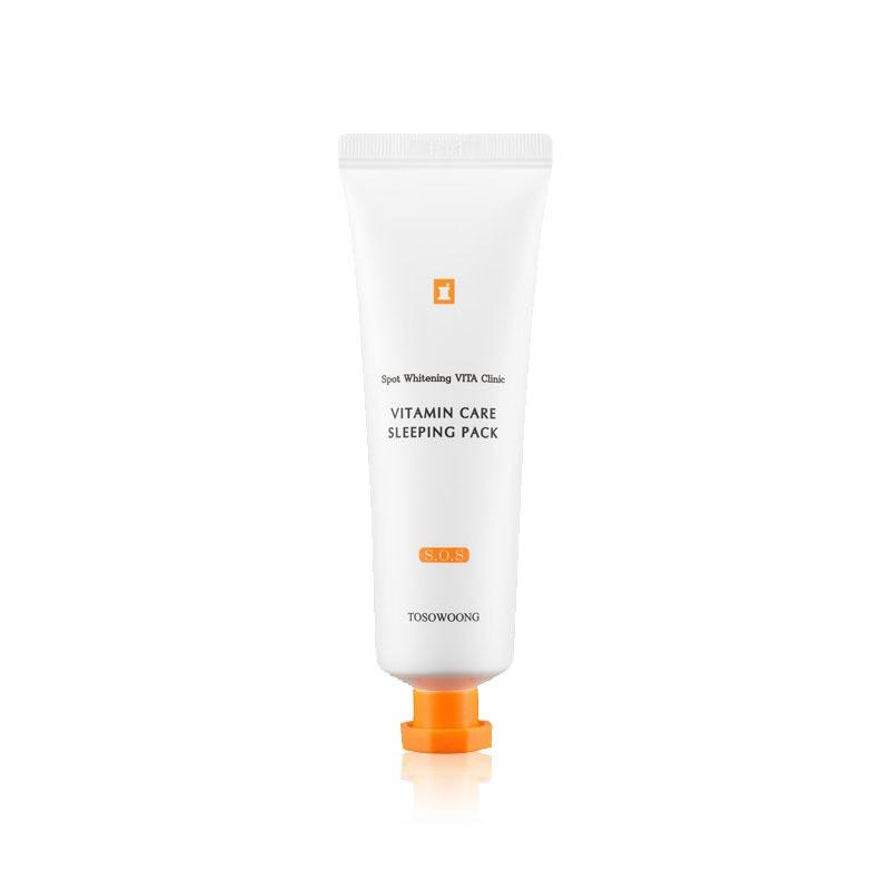 Ночная маска для яркости кожи Tosowoong Vitamin Sleeping Pack 50 мл (8809179104470)