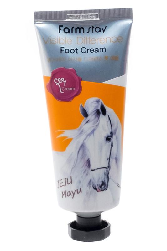 Крем для ног с лошадиным маслом Farmstay Horse Oil Foot Cream 100 мл (8809242270590)