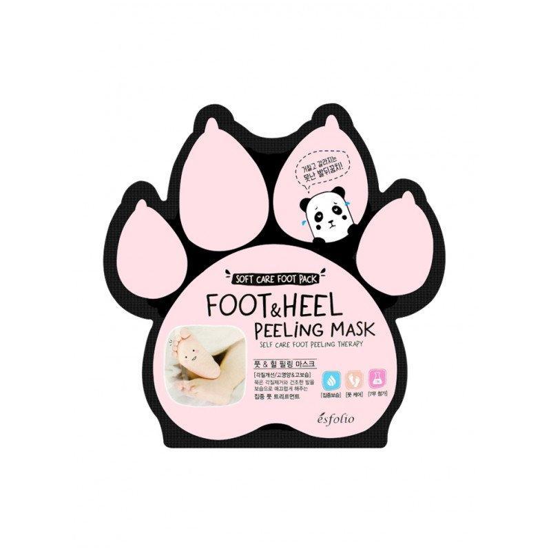 Пилинг-носочки для стоп Esfolio Foot & Heel Peeling Mask 1 пара (8809386882833)