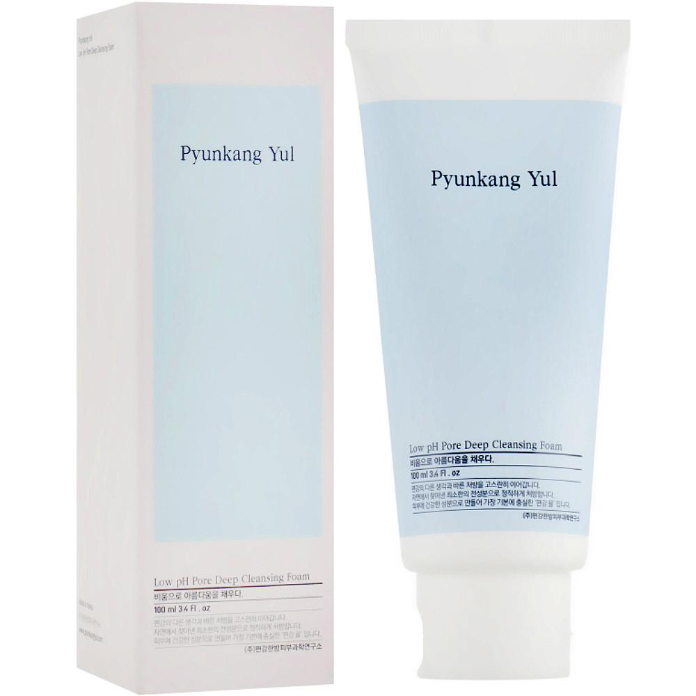 Пенка для умывания с экстрактом гамамелиса Pyunkang Yul Low Ph Pore Deep Cleansing Foam 100 мл (8809486680896)