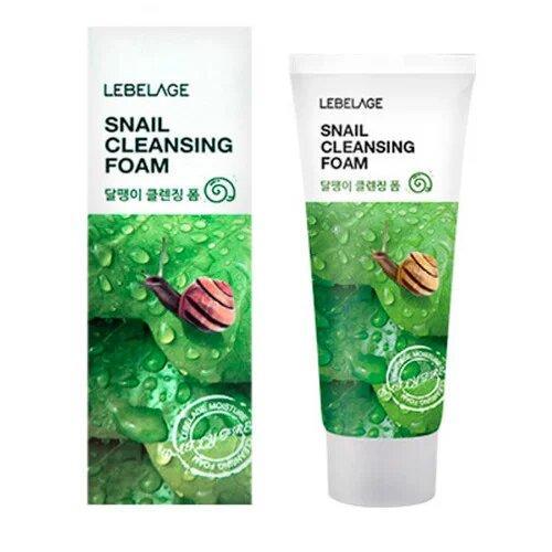 Улиточная пенка для умывания Lebelage Cleansing Foam Snail 100 мл (8809540513276)