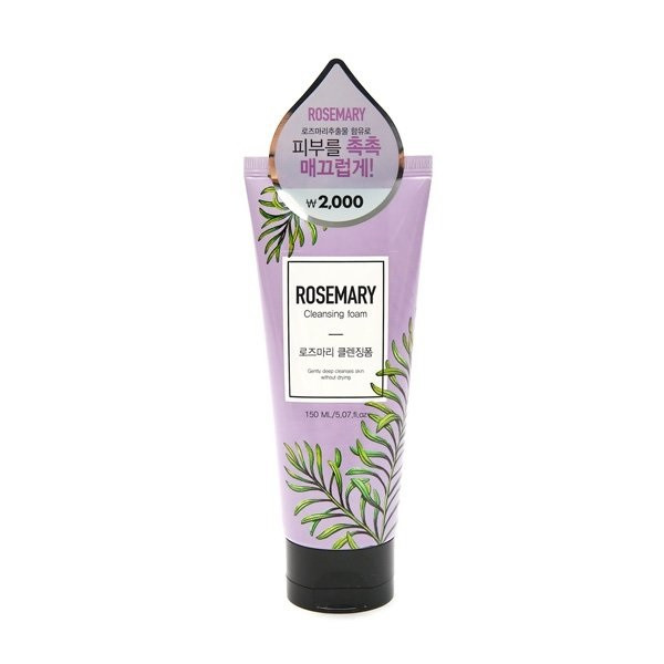 Очищающая пенка для умывания лица Konad Rosemary Cleansing Foam 150 мл (8808739000208)