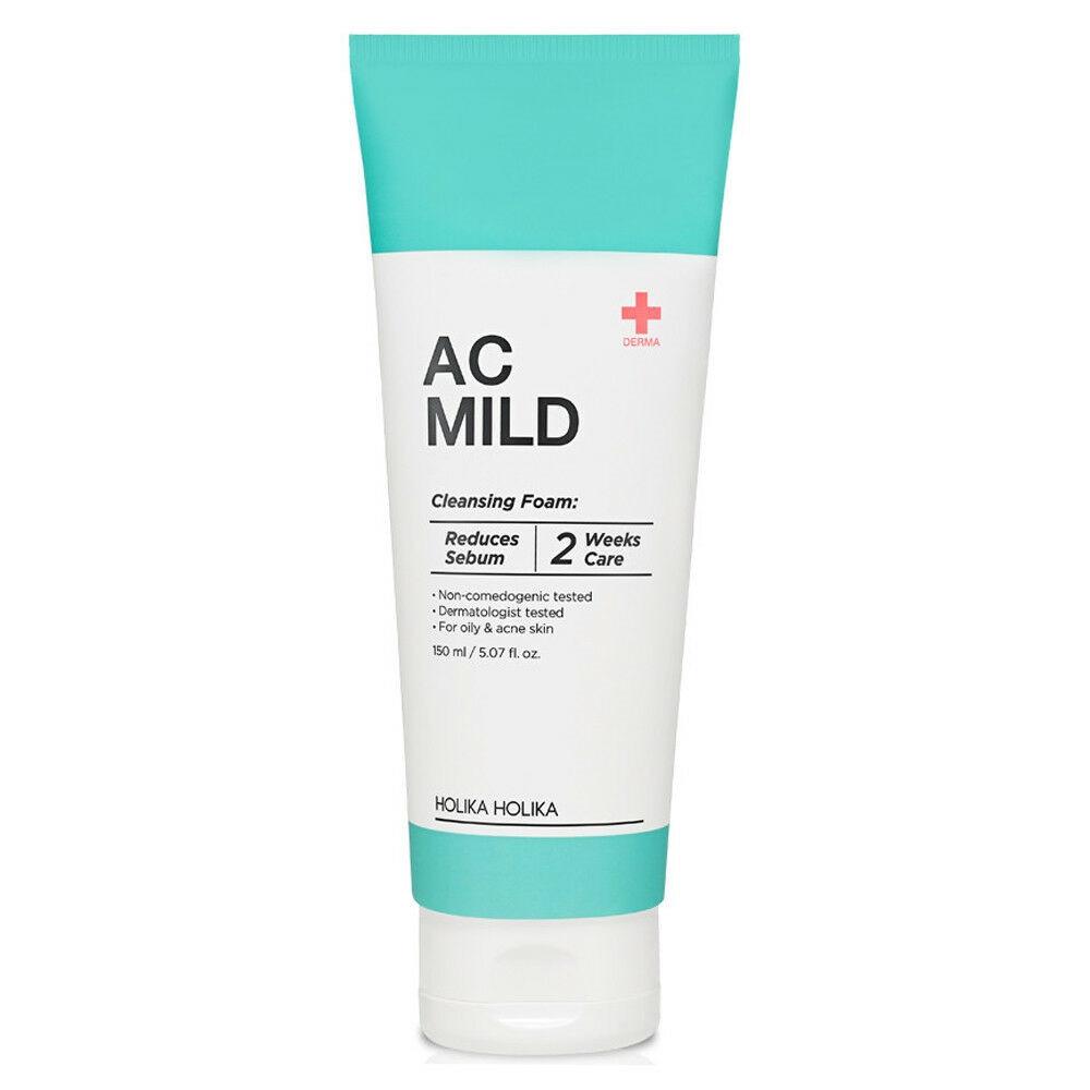 Пенка для умывания для кожи с акне Holika Holika AC Mild Cleansing Foam 150 мл (8806334376574)