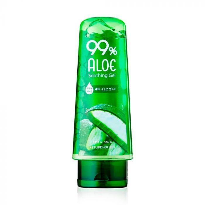 Универсальный увлажняющий гель для лица и тела Etude House 99% Aloe Soothing Gel 250 мл (8806199443619)