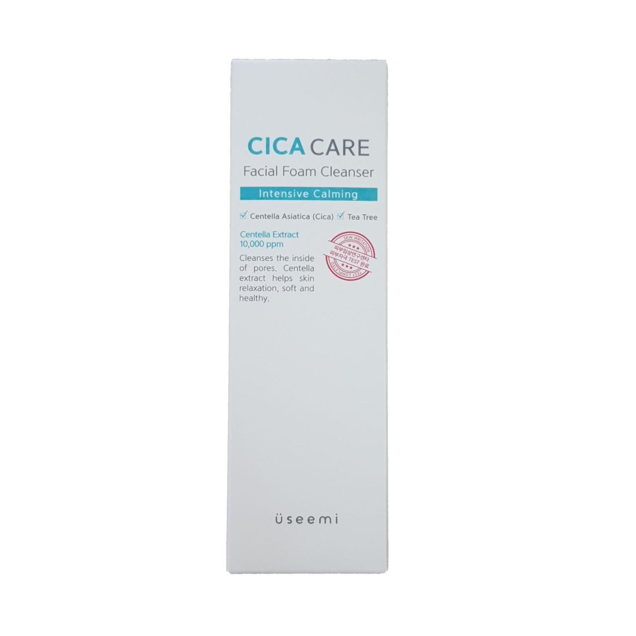 Успокаивающая пенка для умывания лица Useemi Cica Care Facial Foam Cleanser 150 мл (880963830148)