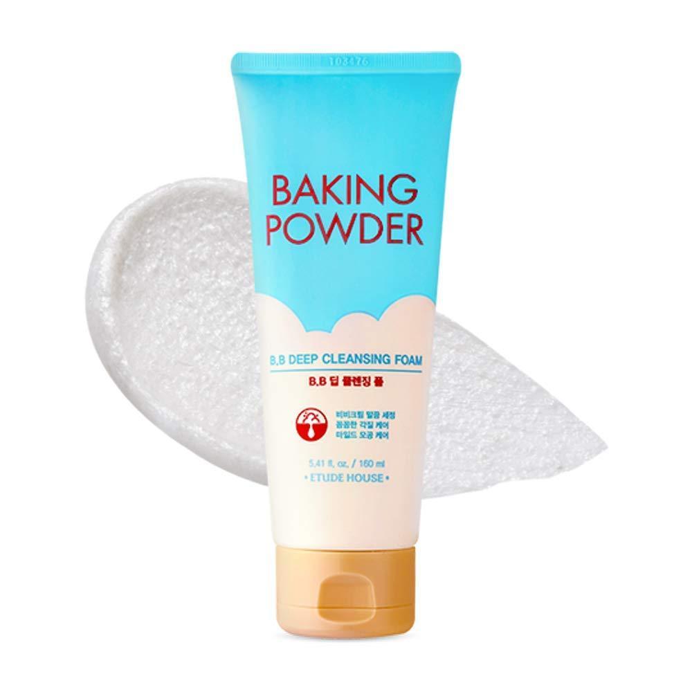 Мини-версия пенки для снятия BB-крема Etude House Baking Powder B.B Deep Cleansing Foam Mini 30 мл (8809587394531)