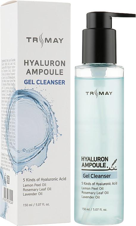 Очищающий гель для умывания с гиалуроновой кислотой Trimay Hyaluron Ampoule Gel Cleanser 150 мл (8809706860244)