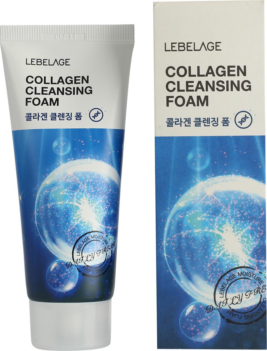 Коллагеновая пенка для умывания Lebelage Cleansing Foam Collagen 100 мл (8809540513290)