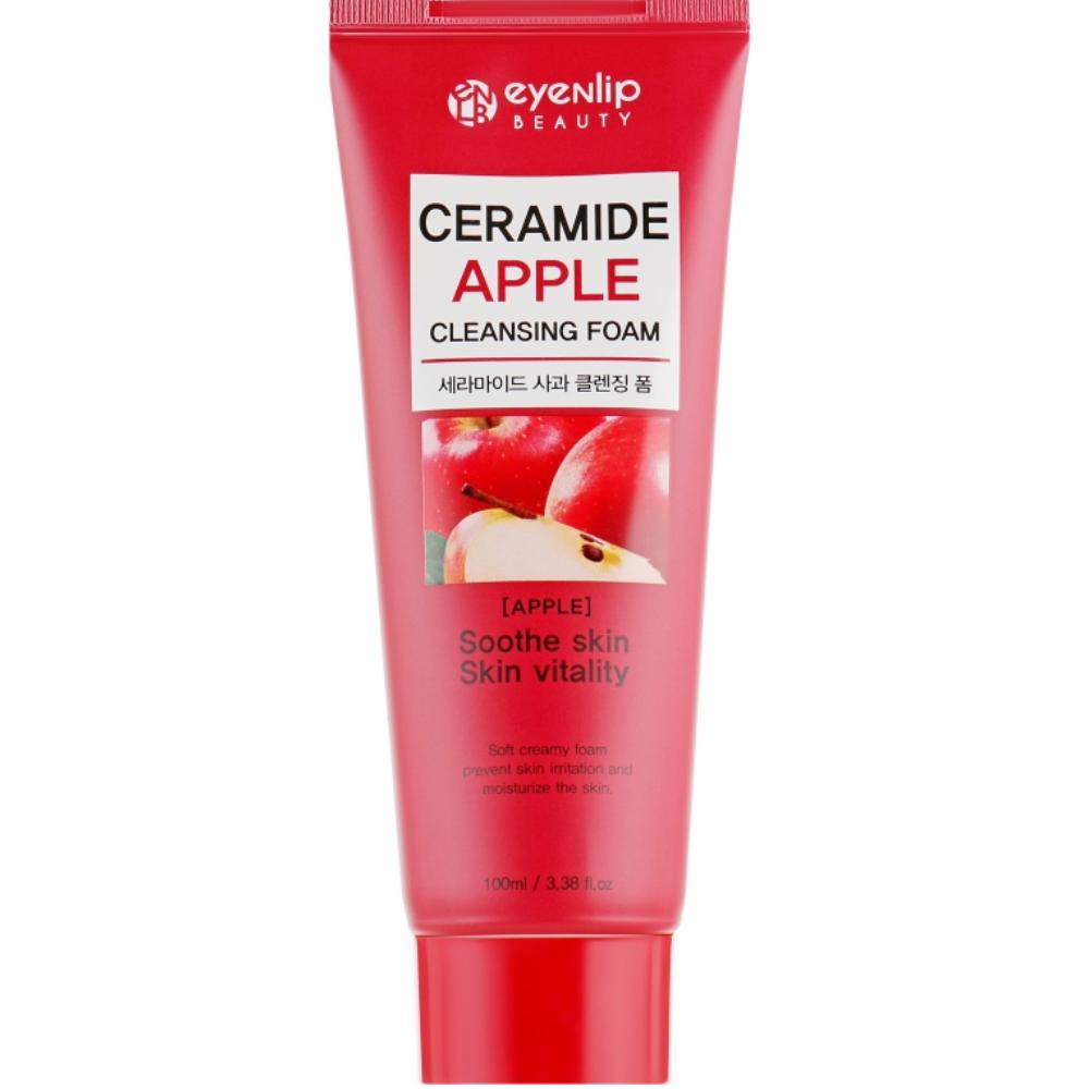 Пенка для умывания с яблоком Eyenlip Ceramide Apple Cleansing Foam 100 мл (8809555251491)
