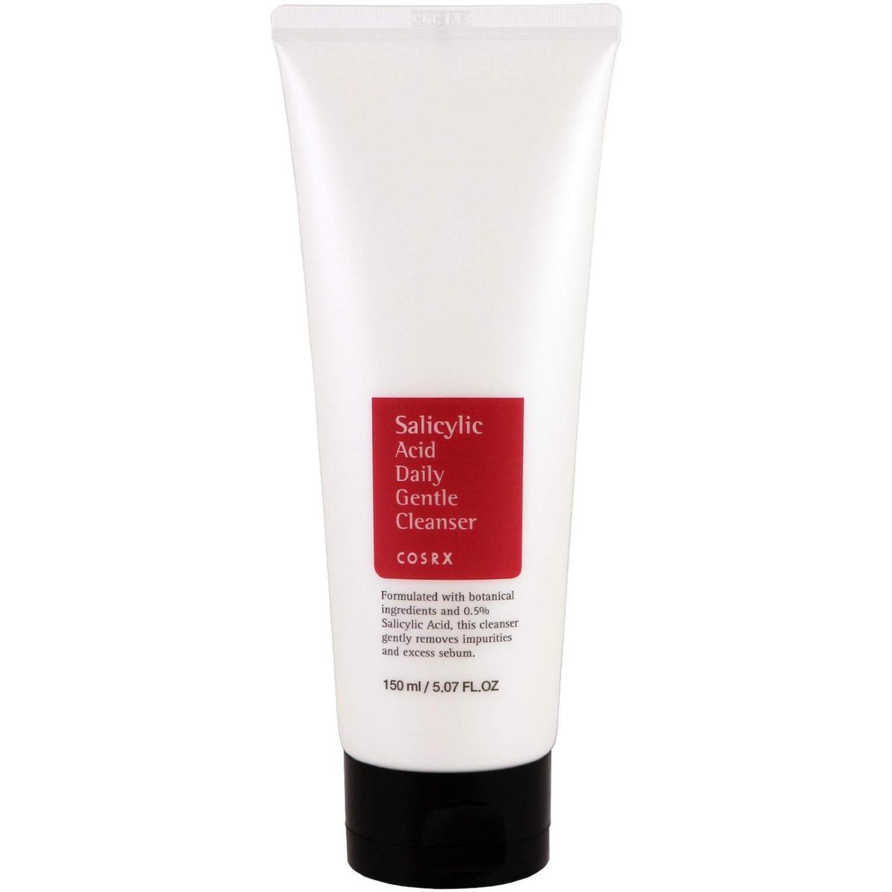 Пенка для мягкого ежедневного умывания Cosrx Salicylic Acid Daily Gentle Cleanser 150 мл (8809416471112)
