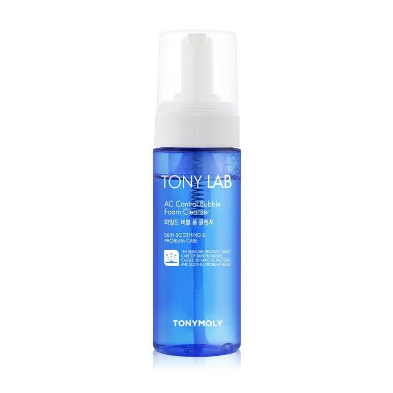 Очищающая пенка-мусс для умывания Tony Moly Tony Lab AC Control Bubble Foam Cleanser 150 мл (8806194010427)