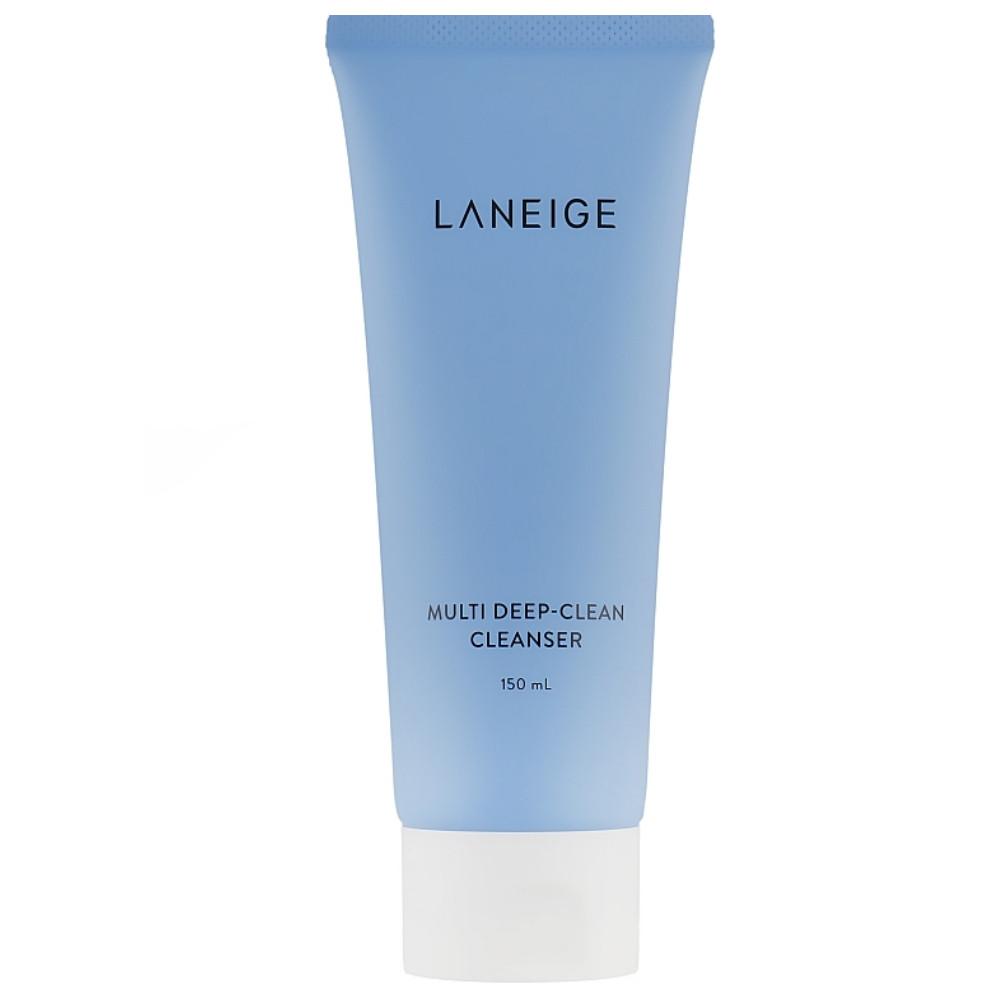 Пенка для глубокого очищения лица Laneige Multi Deep‐Clean Cleanser 150 мл (3170)