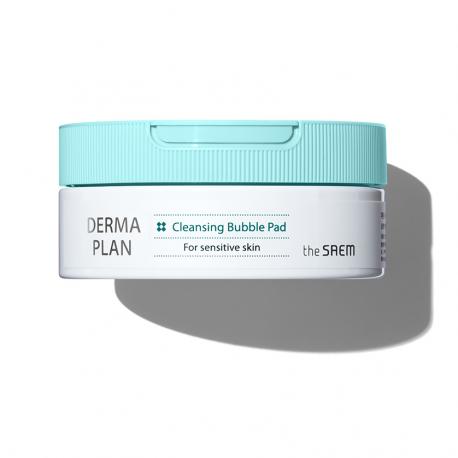 Очищающие пенящиеся салфетки для лица The Saem Derma Plan Cleansing Bubble Pad 15 шт (8806164168707)