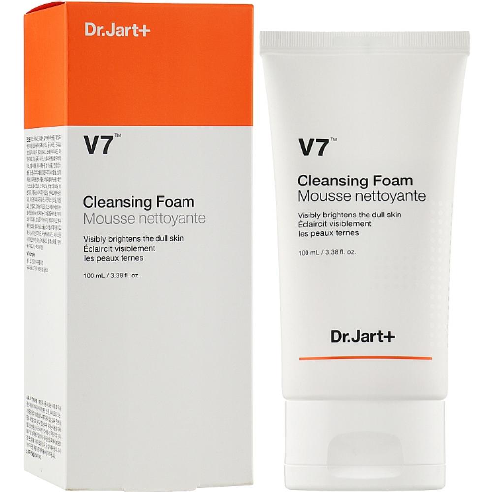 Витаминная очтщающая пенка для умывания Dr.Jart V7 Cleansing Foam 100 мл (8809535807427)