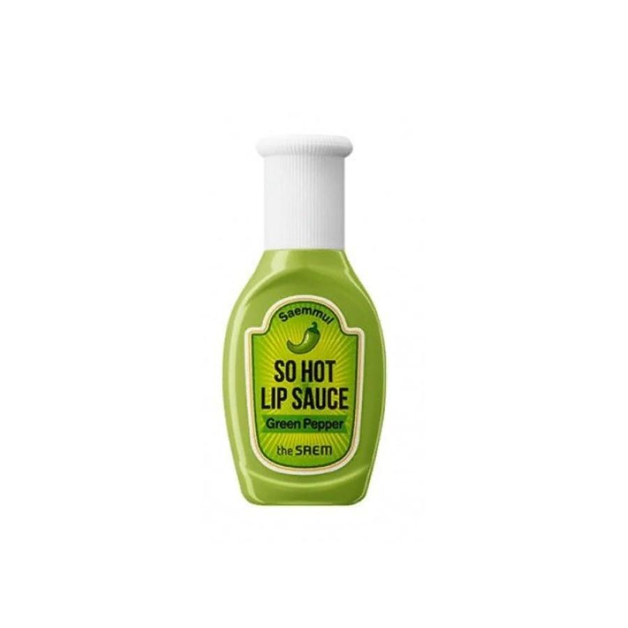 "Горячий соус для губ ""Зелёный перец"" The Saem Saemmul So Hot Lip Sauce 01 Green Pepper 9.5 г (8806164162149)"