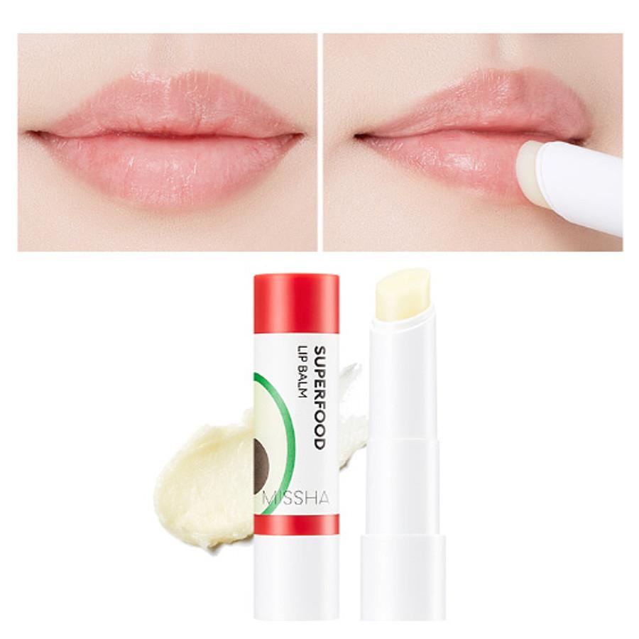 Бальзам для губ с авокадо Missha Super Food Avocado Lip Balm 3,2 г (8809581465879)
