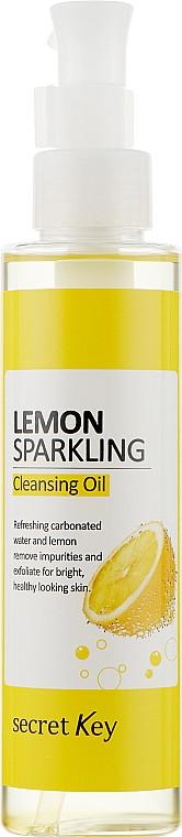 Гидрофильное масло с эффектом осветления Secret Key Lemon Sparkling Cleansing Oil 150 мл (8809305999802)