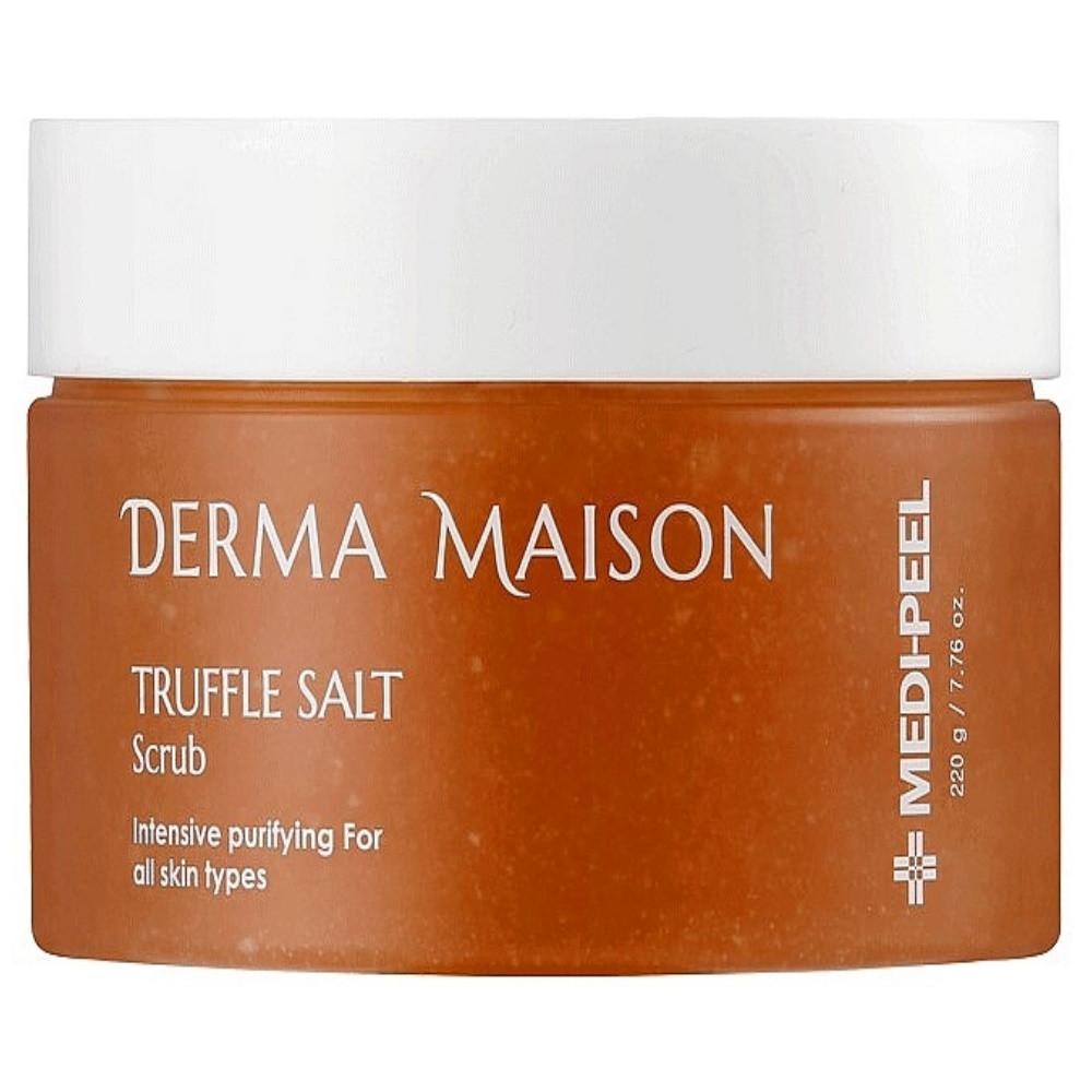 Гоммаж для лица с трюфельной солью MEDI-PEEL Derma Maison Truffle Salt Scrub 220 г (8809409346151)