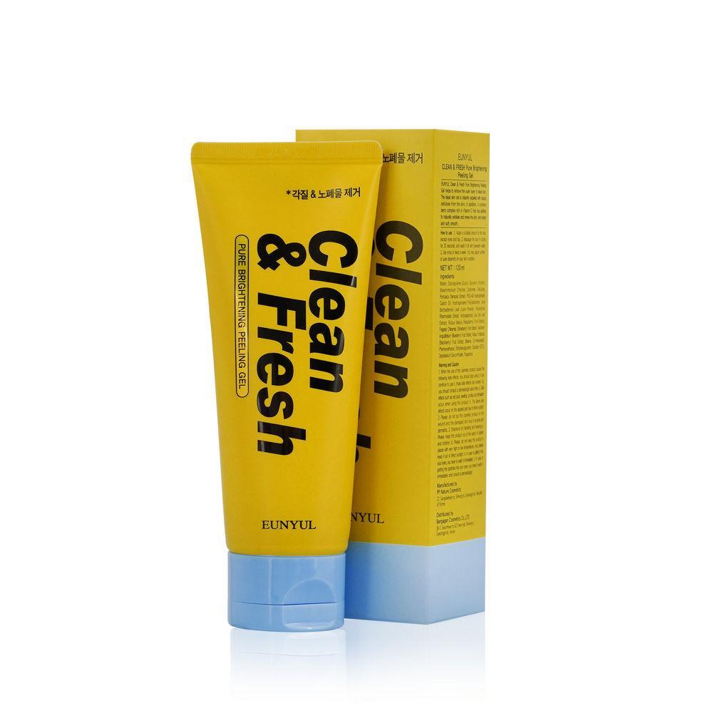 Пилинг-гель для лица с витаминным комплексом Eunyul Clean & Fresh Peeling Gel 120 мл (8809435404276)