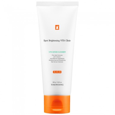 Очищающий скраб для лица Tosowoong Vita Clinic Vita Scrub Cleanser 100 г (8809179106092)