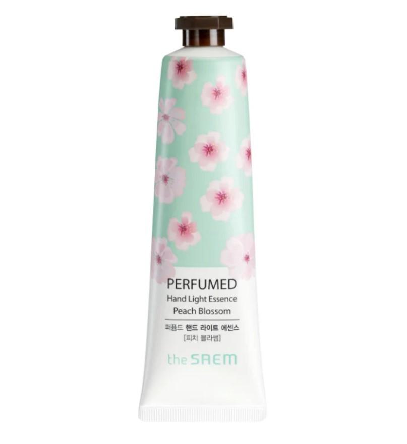 Парфюмированная крем-эссенция для рук The Saem Perfumed Hand Light Essence Peach Blossom 30 мл (8806164128701)