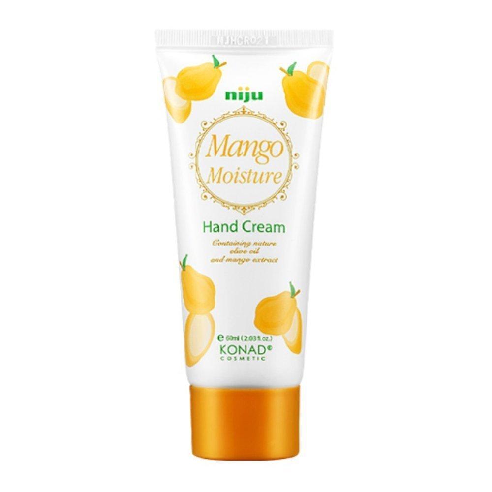 Крем для рук с манго Konad Niju Moisture Hand Creams Mango 60 мл (8809109832909)