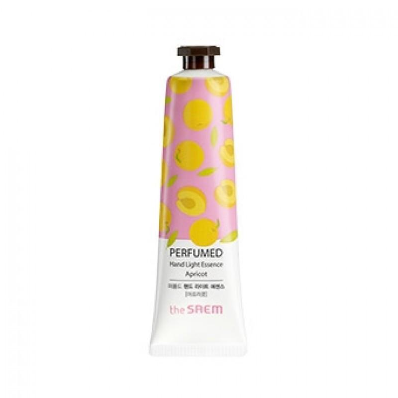 Парфюмированная крем-эссенция для рук The Saem Perfumed Hand Light Essence Apricot 30 мл (8806164128688)