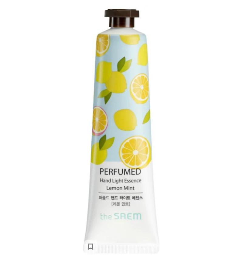 Парфюмированная крем-эссенция для рук The Saem Perfumed Hand Light Essence Lemon Mint 30 мл (8806164128695)
