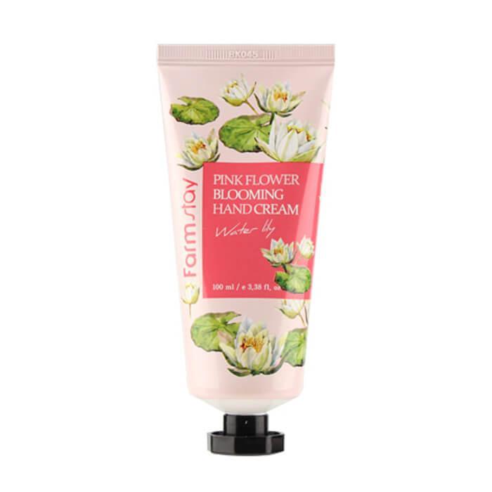 Восстанавливающий крем для рук с экстрактом лилии Farmstay Pink Flower Blooming Hand Cream 100 мл (8809636280631)