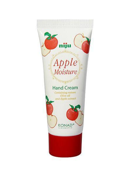Крем для рук яблочный Konad Niju Moisture Hand Creams Apple 60 мл (8809109832886)
