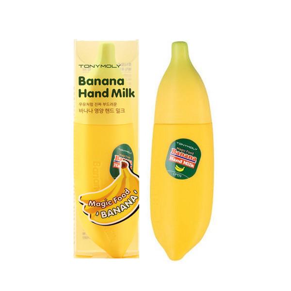 Крем-молочко для рук с экстрактом банана Tony Moly Banana Hand Milk 45 мл (8806358517304)