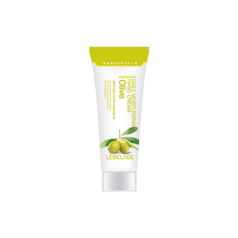 Увлажняющий крем для рук с экстрактом оливы Lebelage Daily Moisturising Hand Cream Water Collagen 100 мл (8809338564299)