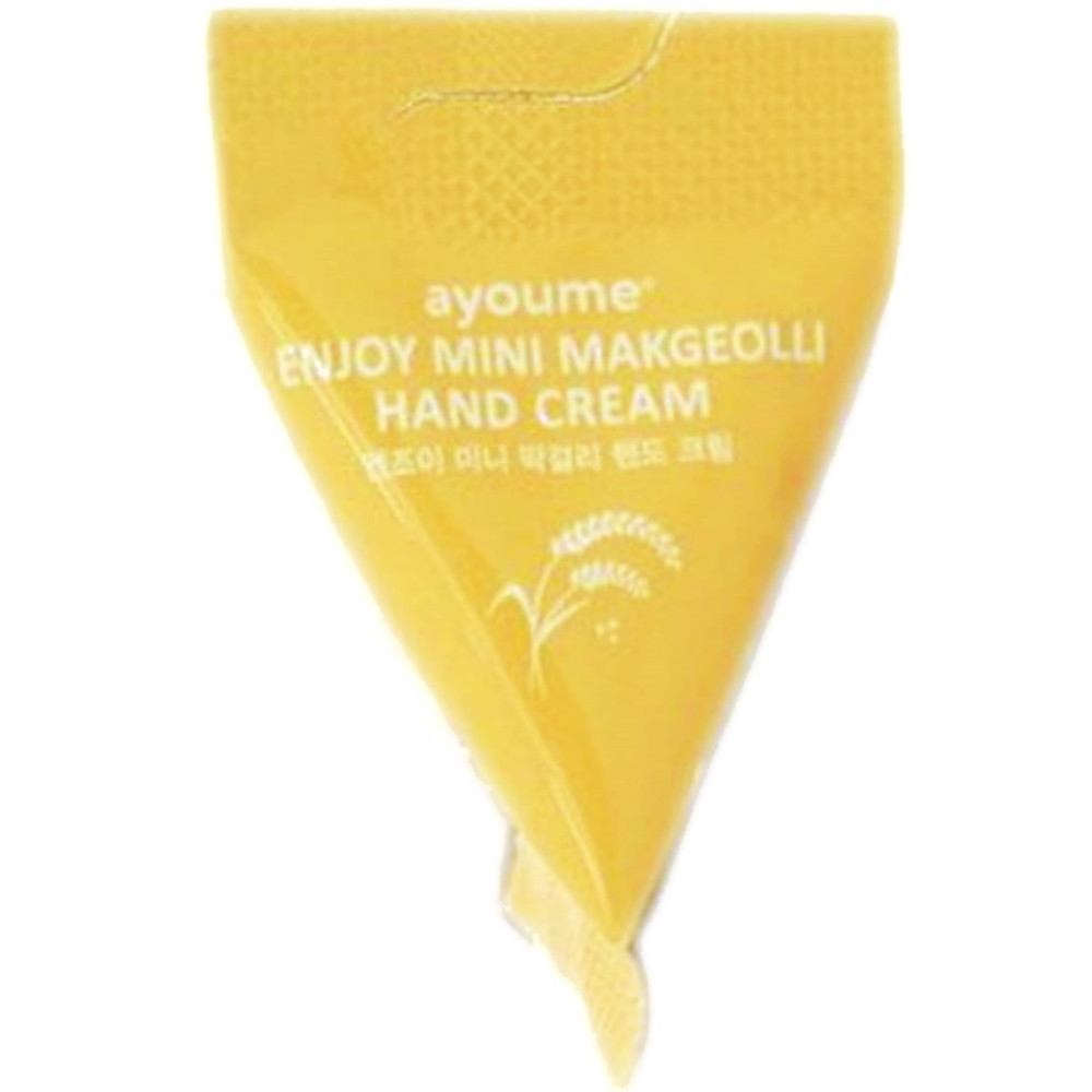 Увлажняющий крем-пирамидка для рук Ayoume Enjoy Mini Makgeolli Hand Cream - 3 г*1 шт (8809534253249)