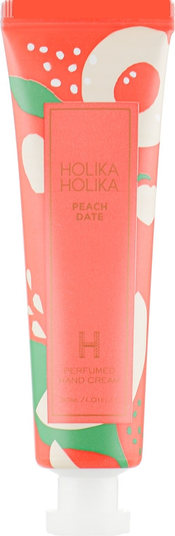 "Крем для рук ""Персик"" Holika Holika Peach Date Perfumed Hand Cream 30 мл (8806334375836)"