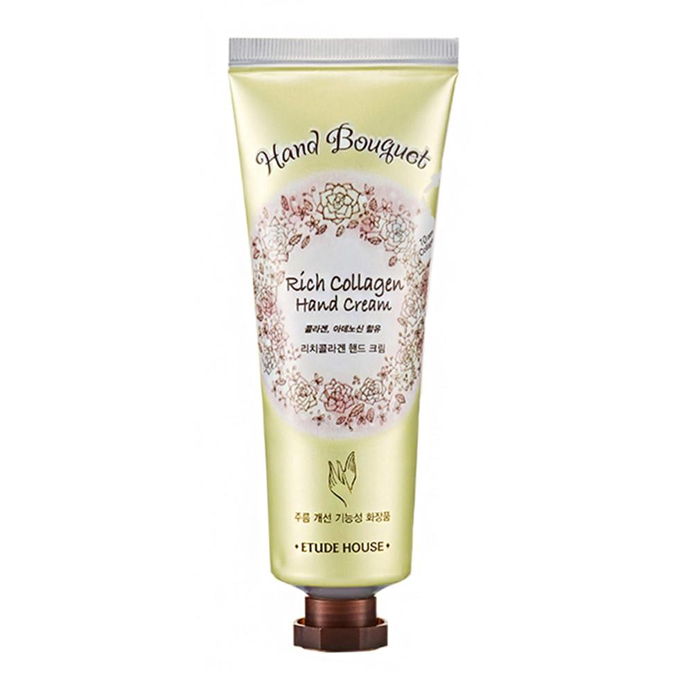 Увлажняющий крем для рук с коллагеном Etude House Hand Bouquet Rich Collagen Hand Cream 50 мл (8806179416428)