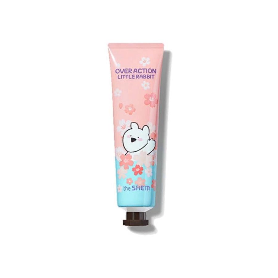 Крем для рук The Saem Over Action Little Rabbit Perfumed Hand Velvet Cream Blue 30 мл (8806164162507)