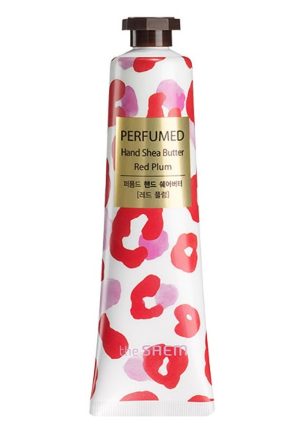 Крем-масло для рук The Saem Perfumed Hand Shea Butter Red Plum 30 мл (8806164131961)