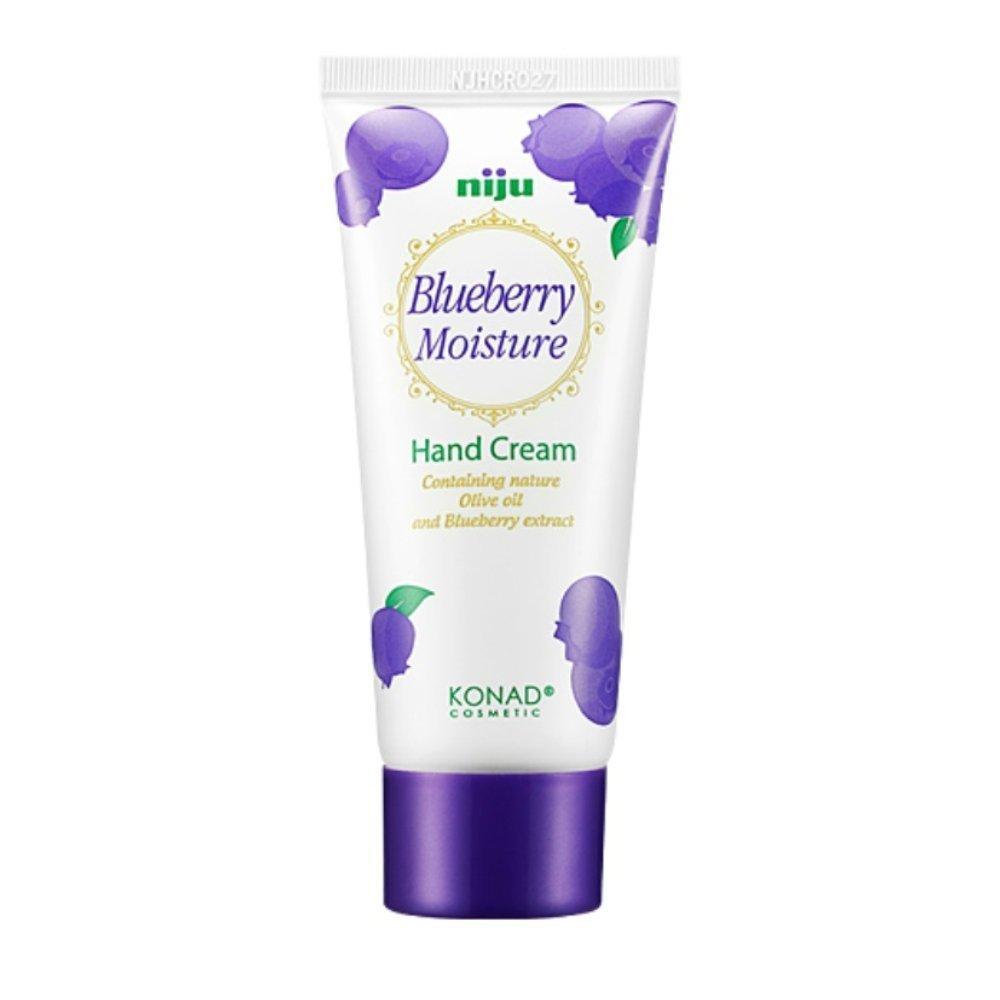 Крем для рук Konad Niju Moisture Hand Creams Blueberry 60 мл (8809109832893)