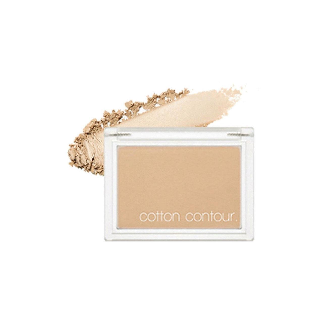 Хлопковые румяна для контурирования лица Missha Cotton Contour Sugar Toast 4 г (8809581444416)