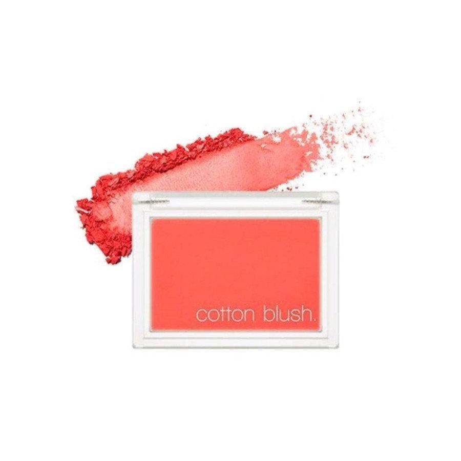 Хлопковые румяна для лица Missha Cotton Blush Red Flat 4 г (8809581444331)