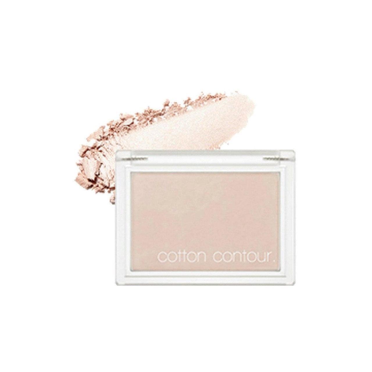Хлопковые румяна для контурирования лица Missha Cotton Contour Sparkling Shake 4 г (8809581444409)