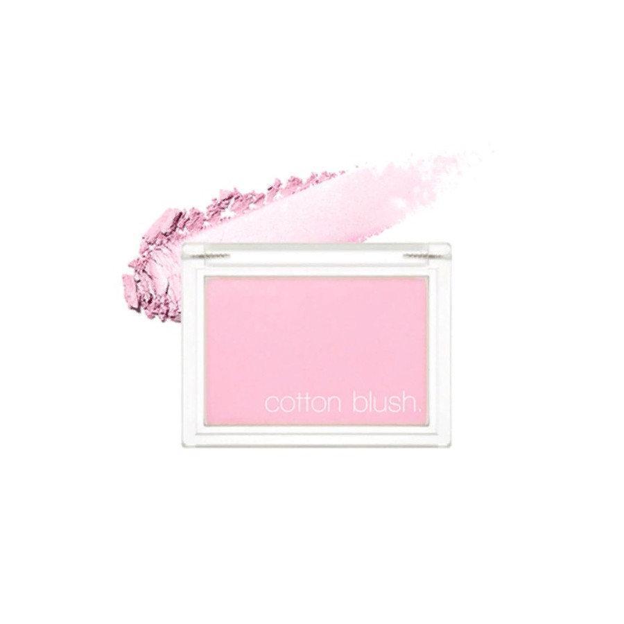 Хлопковые румяна для лица Missha Cotton Blush Lavander Perfume 4 г (8809581444393)