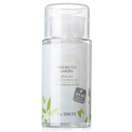 Средство для снятия макияжа с глаз и губ The Saem Healing Tea Garden White Tea Lip & Eyes Remover 150 мл (8806164138304)