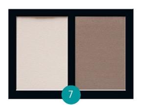 Матовые тени для век Eva cosmetics Satin Touch Палитра №7