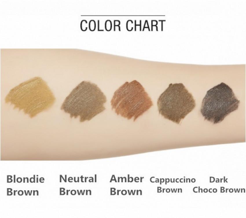 Тушь для бровей Missha Color Wear Browcara Amber Brown 7,5 г (8809530056134)
