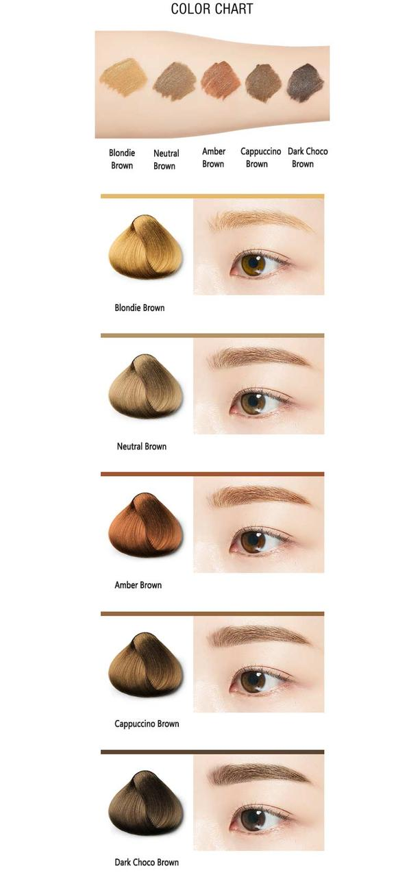 Тушь для бровей Missha Color Wear Browcara Neutral Brown 7,5 г (88095300561270 (8809530056127)